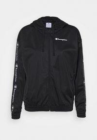 Champion - HOODED FULL ZIP - Training jacket - black - 4