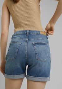 Esprit - Denim shorts - blue medium washed - 8