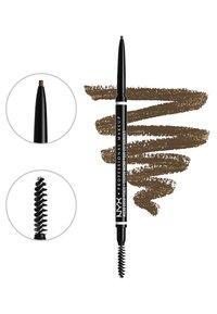 Nyx Professional Makeup - MICRO BROW ESSENTIALS – MIRCRO BROW PENCIL - Makeup set - ash brown - 3
