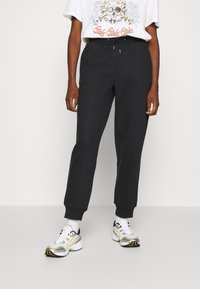 ONLY - ONLHAILEY PANTS  - Teplákové kalhoty - black - 0