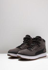 Park Authority - Sneakers hoog - dark grey/black - 2