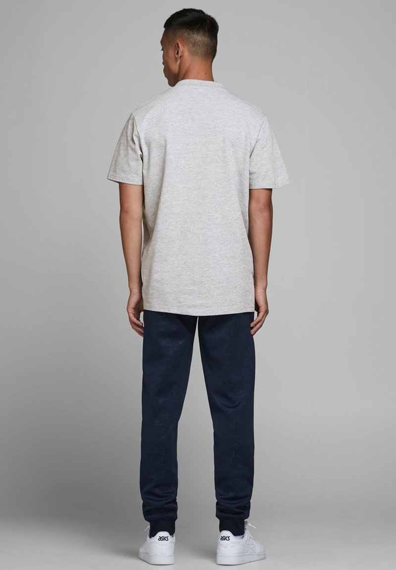 Jack & Jones Basic T-shirt - light grey melange vj1zY