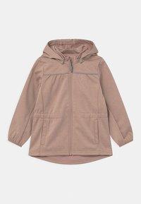 Wheat - GILDA UNISEX - Soft shell jacket - fawn melange - 0