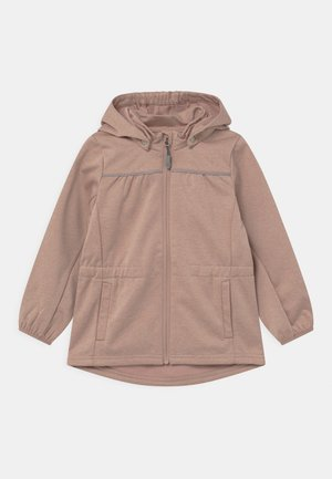 GILDA UNISEX - Soft shell jacket - fawn melange