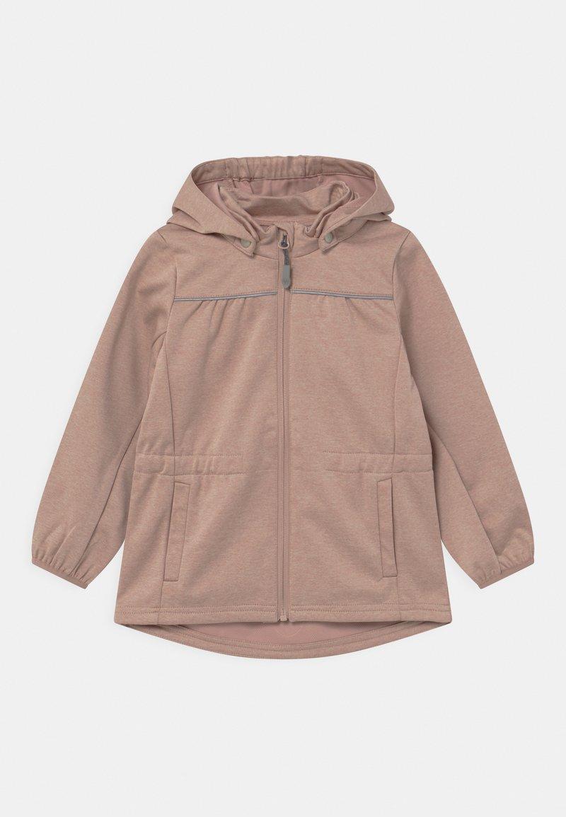 Wheat - GILDA UNISEX - Soft shell jacket - fawn melange