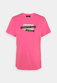 Diesel - T-DARIA-R2 - Print T-shirt - pink - 0