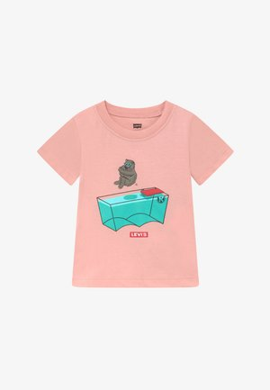 GRAPHIC TEE - Print T-shirt - light pink