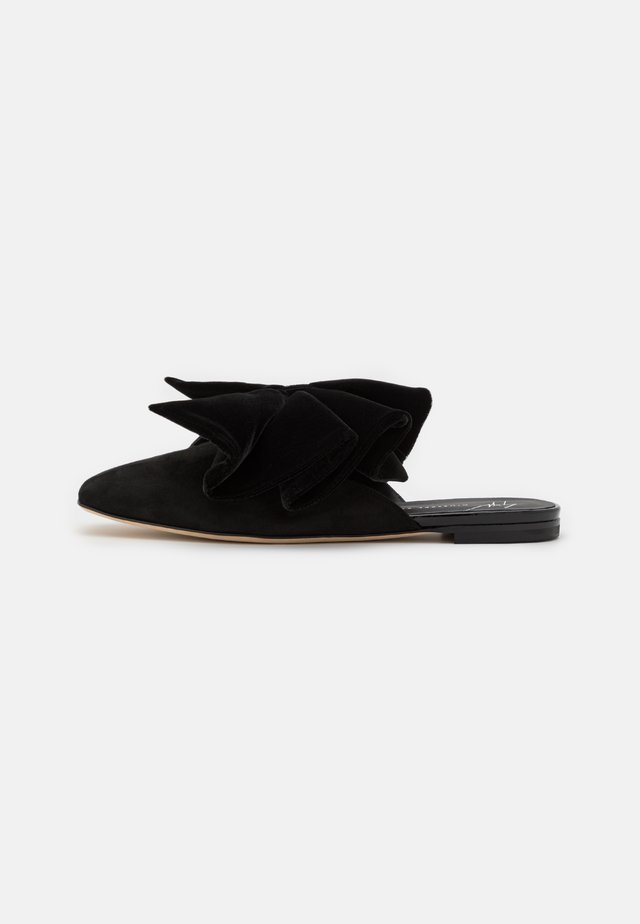 SABOT - Pantofle - nero
