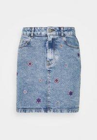 Desigual - LESLIE - Mini skirt - blue - 0