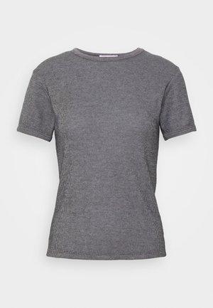VALOW - T-shirts med print - carbone ecru