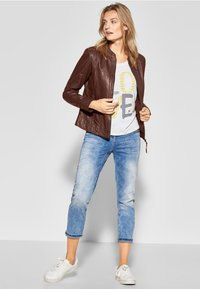Cecil - Leather jacket - brown - 1