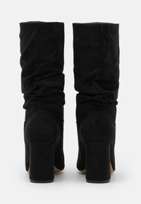 Dorothy Perkins Wide Fit - WIDE FIT BLOCK BOOT - Boots - black - 3