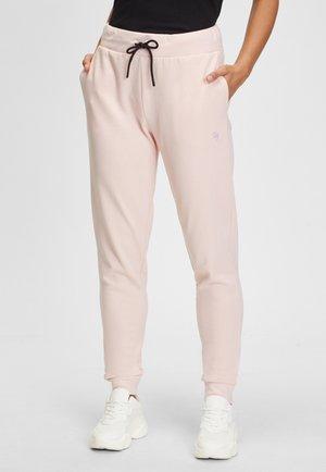 Tracksuit bottoms - light pink