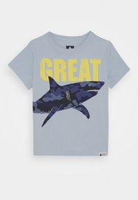 GAP - TODDLER BOY GRAPHICS - T-shirt z nadrukiem - harbor - 0
