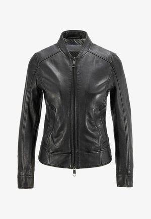 C_SAMEGGY - Leather jacket - black