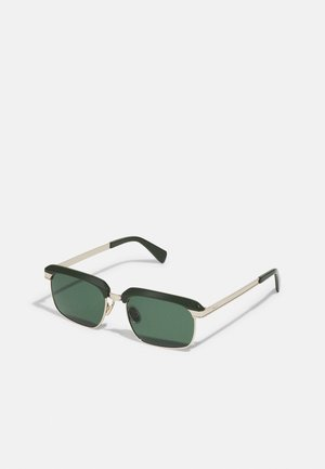 UNISEX - Sunglasses - olive green/gold-coloured