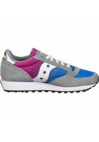 Saucony - SCHUHE JAZZ - Baskets basses - gray/blue/pink - 6