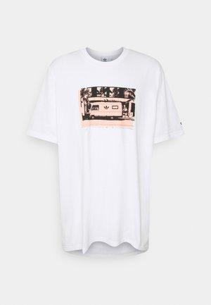 PHOTO TEE - T-shirts print - white