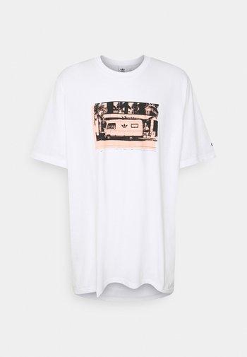 PHOTO TEE - T-shirt con stampa - white