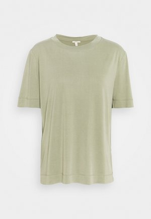 TEE - T-shirt basic - light khaki
