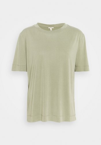 TEE - Jednoduché triko - light khaki