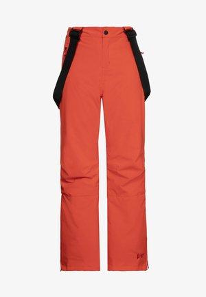 SPIKE JR  - Snow pants - orange fire