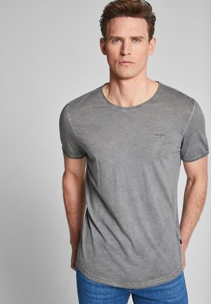 CLARK - Basic T-shirt - dark grey                  029