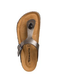 Tamaris - T-bar sandals - anthracite