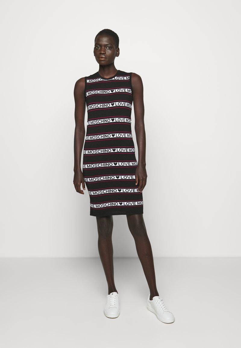 Love Moschino - Jumper dress - black