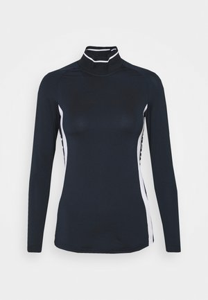 ZADIE SOFT COMPRESSION - Long sleeved top - navy