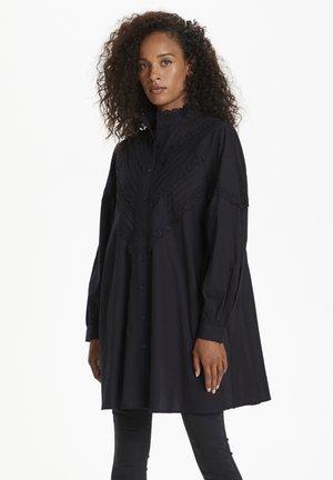 Košilové šaty - meteorite