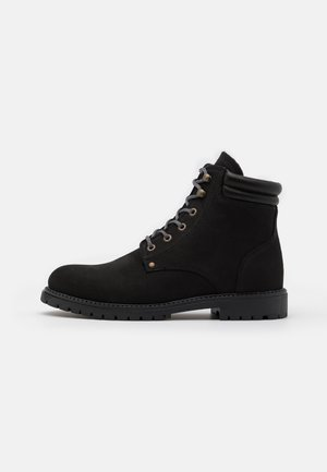 SLHMICHAEL BOOT - Lace-up ankle boots - black