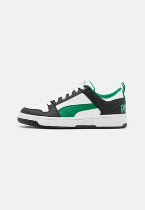REBOUND LAYUP UNISEX - Sneaker low - white/green/black
