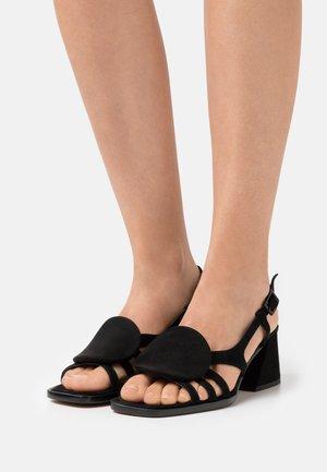HIEDRA - Sandals - black