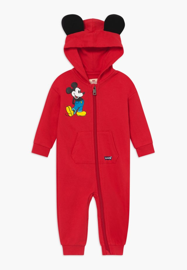 PLAY ALL DAY DISNEY MICKEY MOUSE BABY - Overal - super red