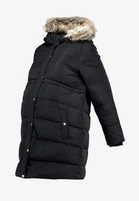 MLASTA COAT - Abrigo de plumas - black