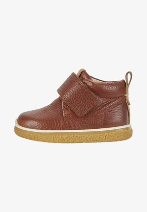 CREPETRAY - Zapatos con cierre adhesivo - cognac