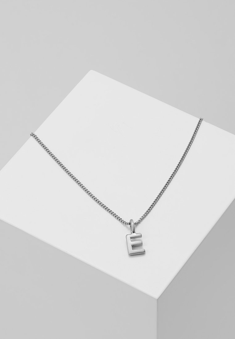 Pilgrim - NECKLACE E - Necklace - silver-coloured