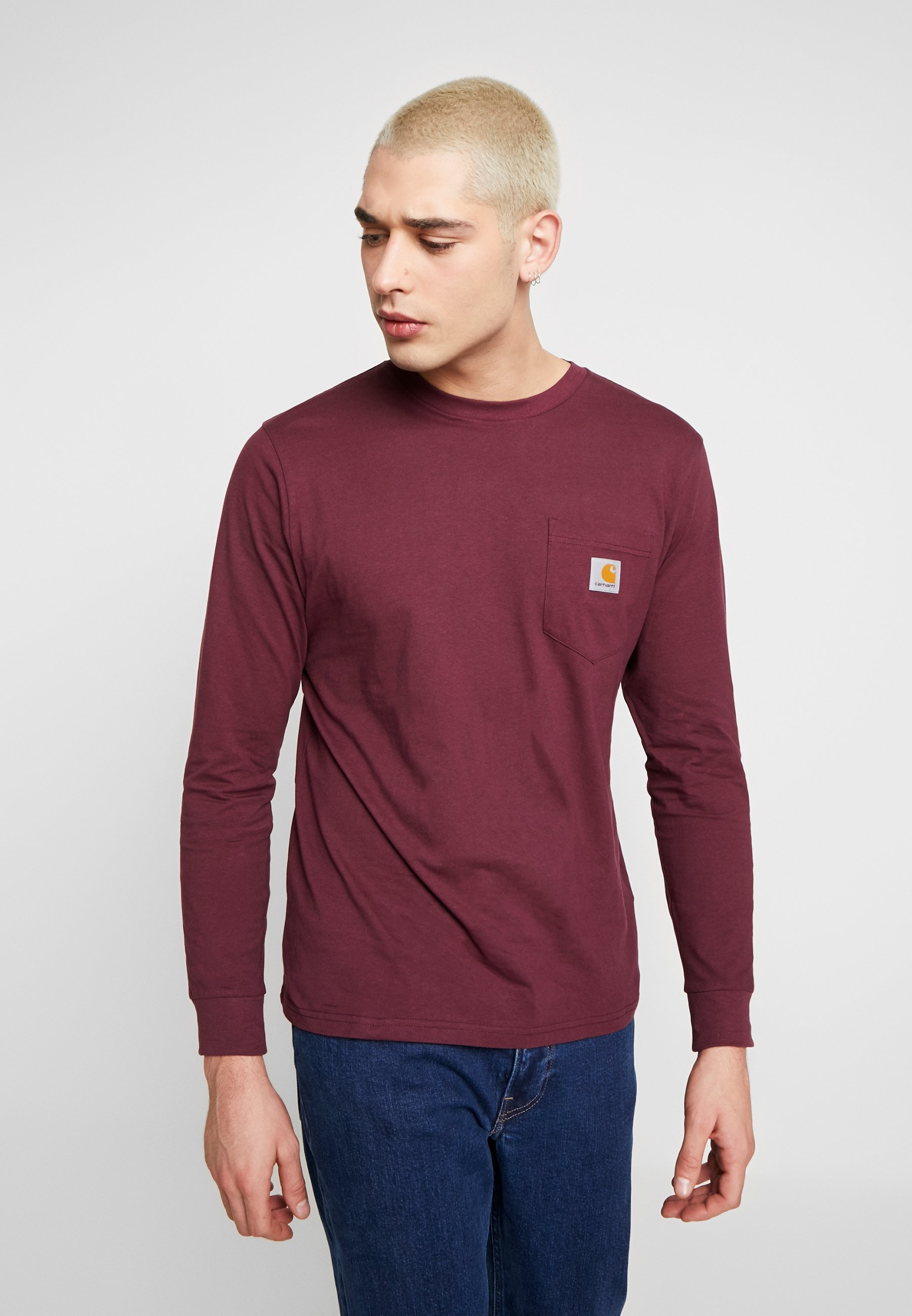 Men POCKET - Long sleeved top