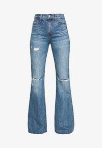 Ética - NINA - Flared Jeans - destroyed denim - 5