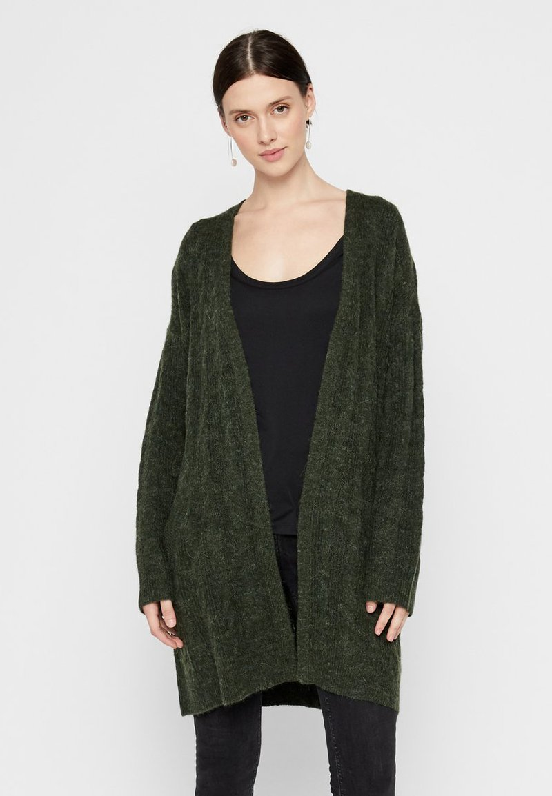 Pieces - Cardigan - dark green