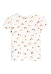 Next - 3 PACK FLAMINGO TOPS - Print T-shirt - off-white - 2