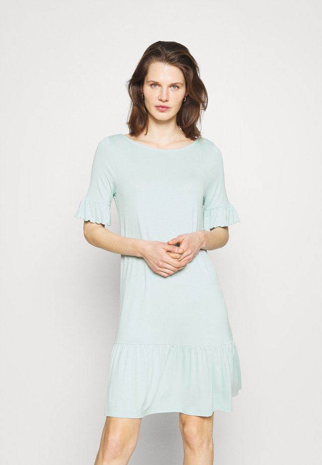 DRESS ALIN - Sukienka z dżerseju - light aqua green