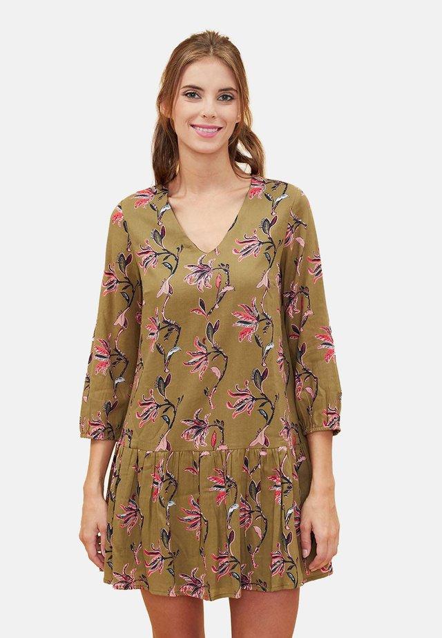 ORBA - Korte jurk - olive oyl