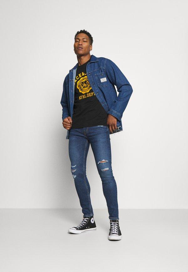 Levi's® 519™ EXT SKINNY HI-BALL B - Jeansy Skinny Fit - blue denim/niebieski denim Odzież Męska CFAW