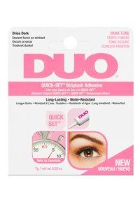 DUO - DUO QUICK SET - False eyelashes - dark - 2