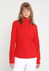 CMP - WOMAN - Fleece jumper - ferrari - 0