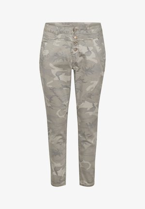 PENORACR TWILL - Trousers - grey camouflage