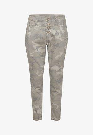 PENORACR TWILL - Pantaloni - grey camouflage
