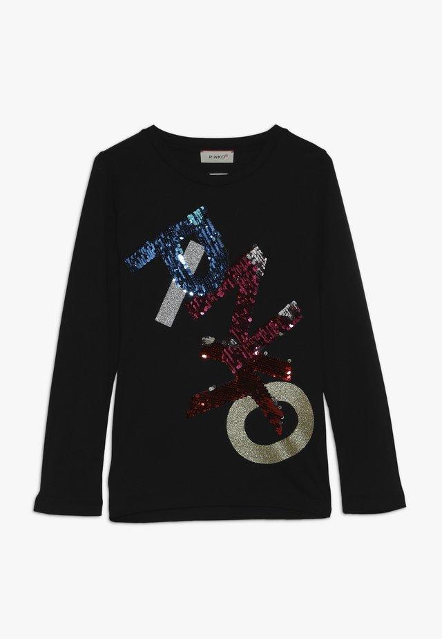 OTTICO - Maglietta a manica lunga - black